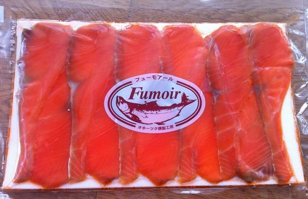 セコムの食のギフトカタログの燻製のサーモンの燻製