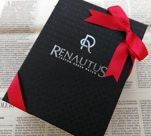 ルノータスの腕時計のプレゼント用包装
