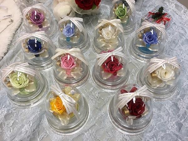 お花ソムリエ バースデーミニドーム