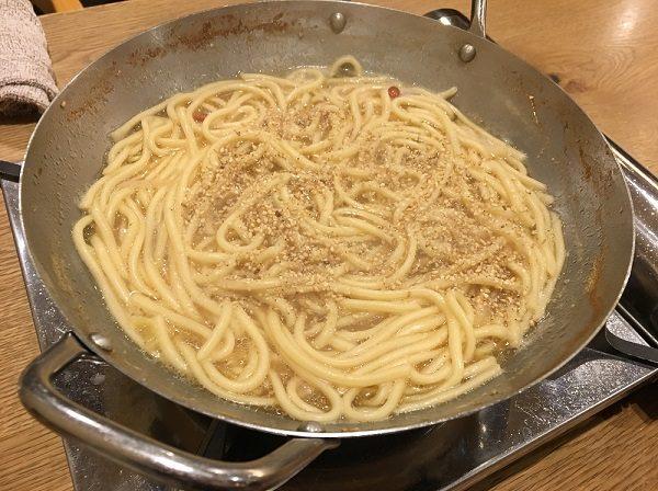 博多若杉のちゃんぽん麺