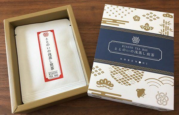 ととのいの浅蒸し煎茶(3g×3袋)×1