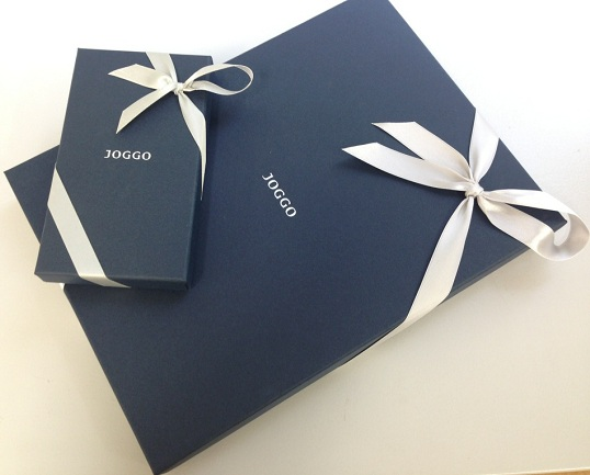 JOGGOのプレゼント用包装
