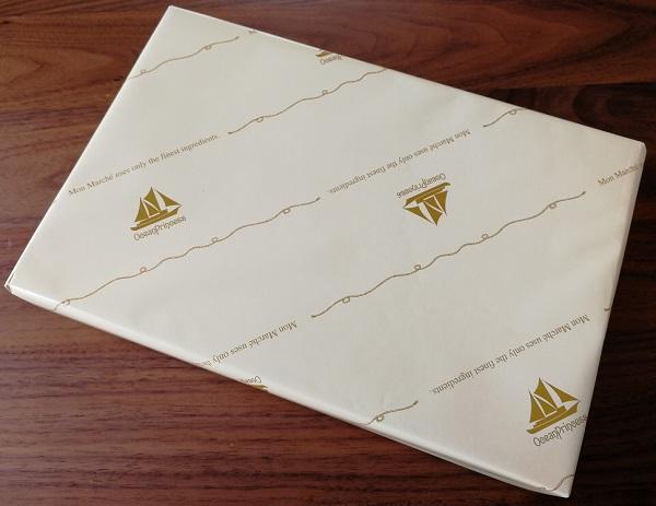 モンマルシェのオーシャンプリンセスホワイトツナの贈答用包装