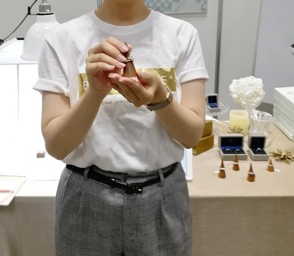 BRILLIANCE+(ブリリアンス+)の社員のY女史