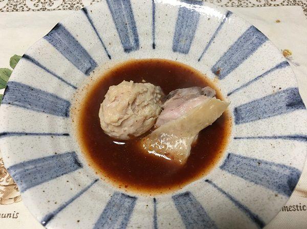 博多タッカンマリの鶏肉