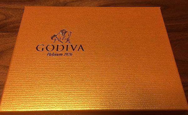 ゴディバ(GODIVA)の箱