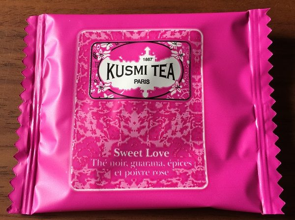 KUSMI TEA(クスミティー)のウェルネスティー、Sweet Love