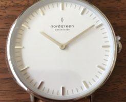 Nordgreen(ノードグリーン)の腕時計の文字盤