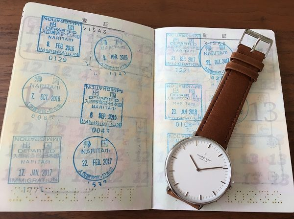 Nordgreen(ノードグリーン)の腕時計とパスポート