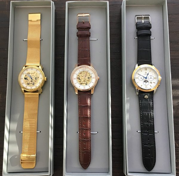 LOBORの腕時計