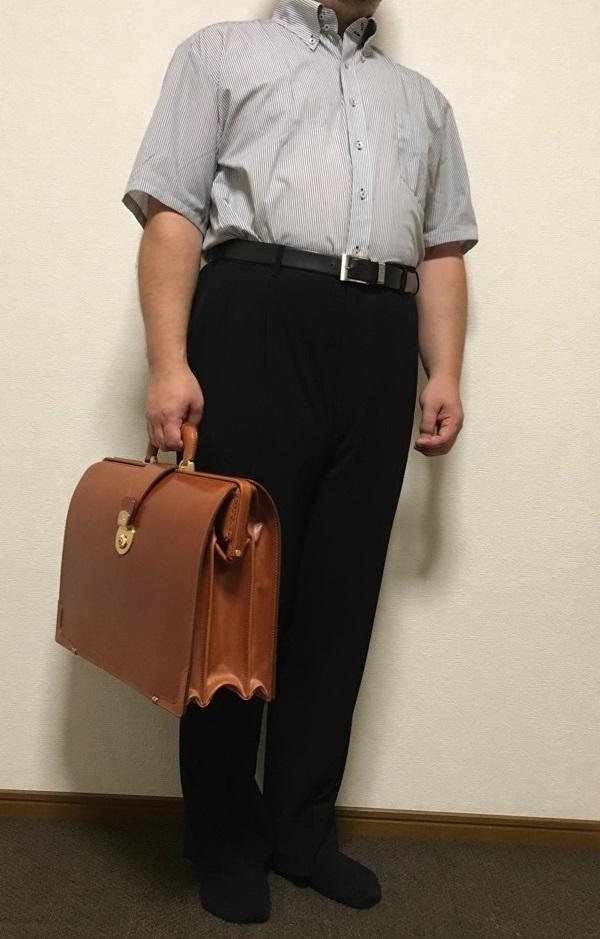 ココマイスターのビジネスバッグ『ブライドル ダレスバッグ』