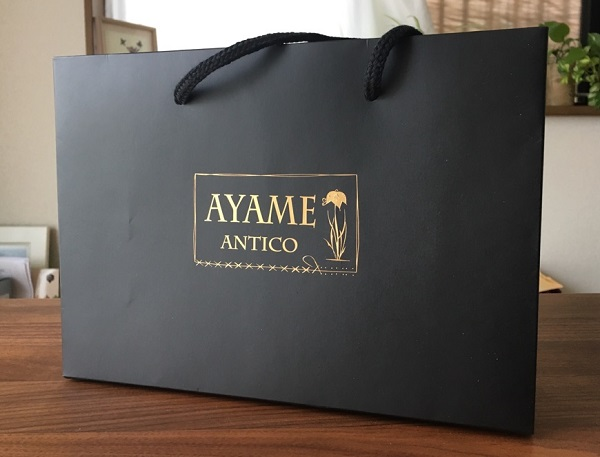 アヤメアンティーコ(AYAME ANTICO)のギフト用包装