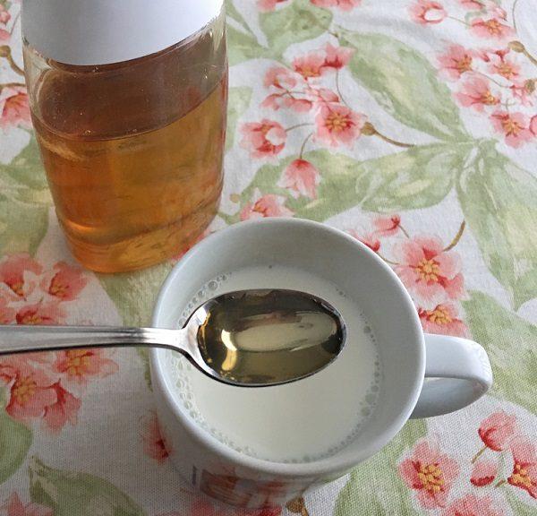 蜂蜜ホットミルク