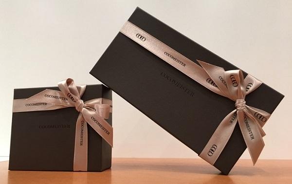 ココマイスターのプレゼント用包装