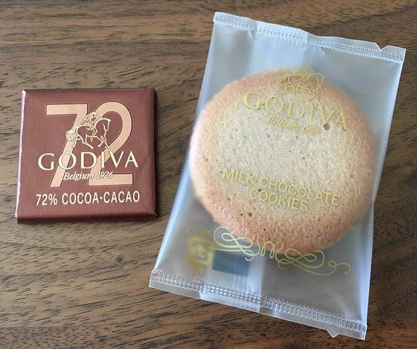 ゴディバ(GODIVA)のクッキーとカレ アソートメント