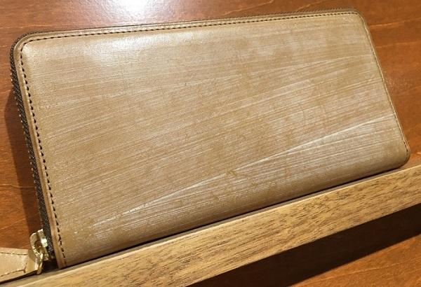 ココマイスターのオークバークを使用した長財布