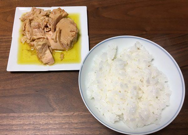 モンマルシェのツナ缶(オリーブオイル)