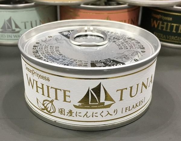 モンマルシェのツナ缶【国産にんにくツナ】