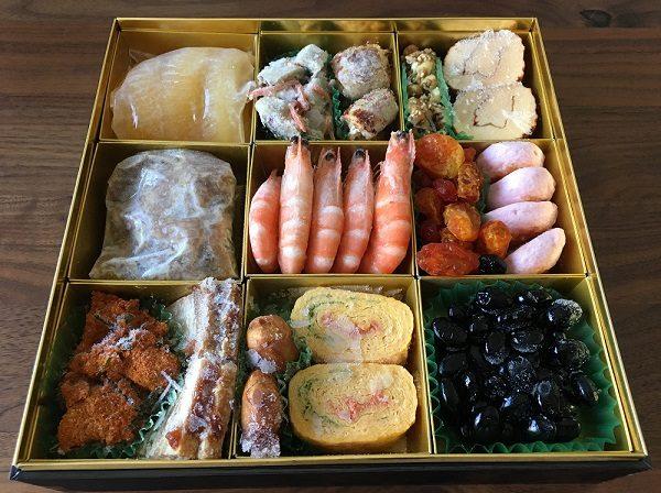 博多久松のおせち料理の一の膳