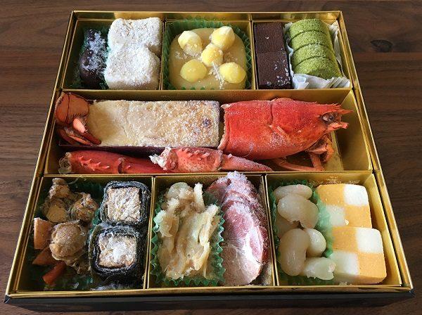 博多久松のおせち料理の三の膳