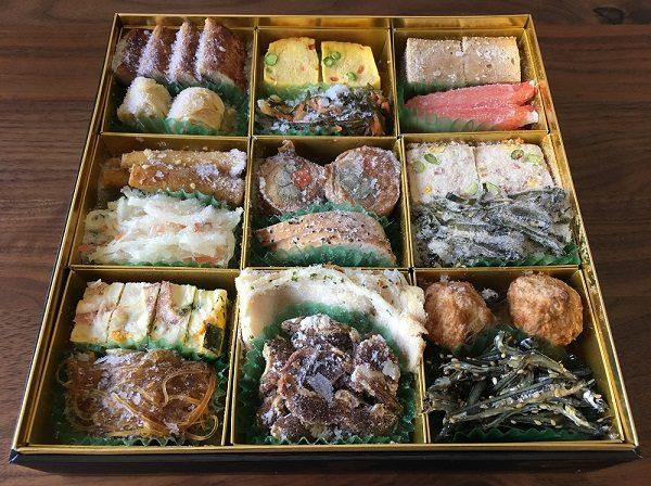 博多久松のおせち料理の二の膳