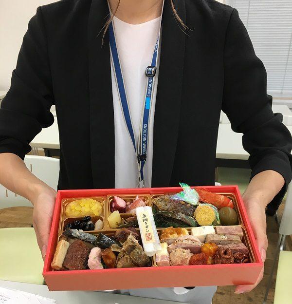 博多久松のおせち料理とOさん