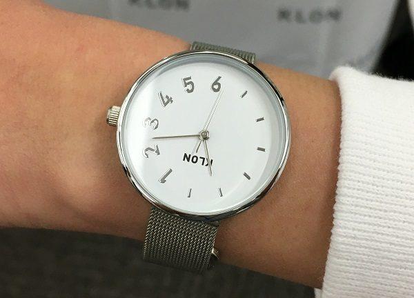 KLON(クローン)の社員M女史の腕時計