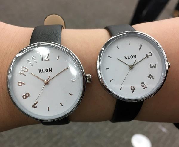 KLON(クローン)の腕時計【時を分け合うペアウォッチ】
