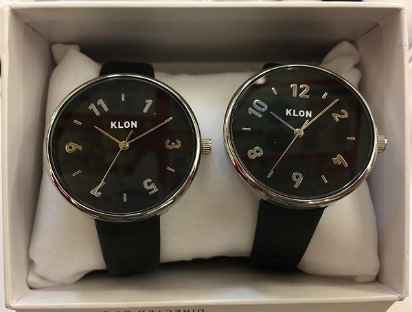 KLON(クローン)の腕時計『時を繋ぐペアウォッチ』