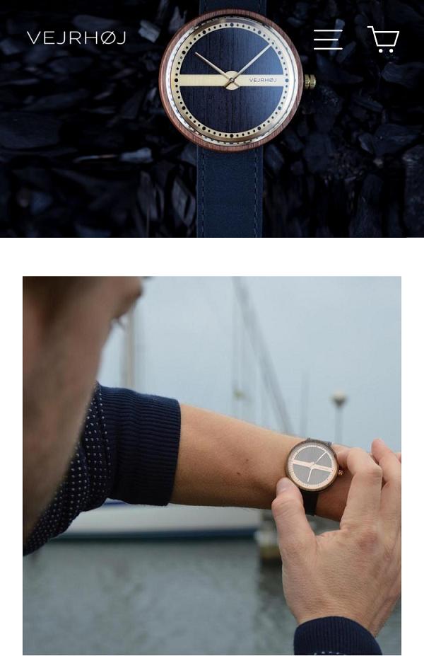 VEJRHØJ(ヴェアホイの腕時計)
