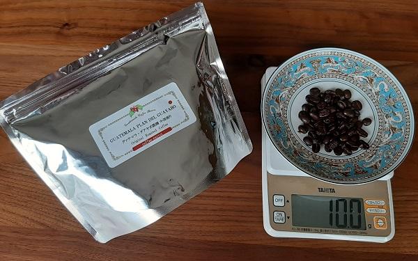 グァテマラ・プラン・デル・グアヤボ農園のコーヒー豆