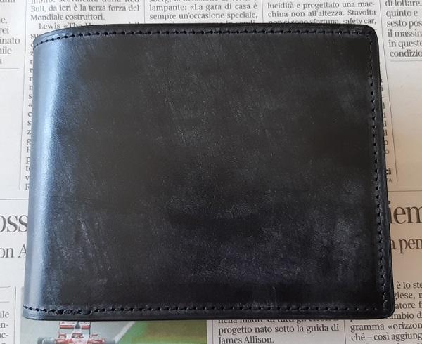 クラフスト(crafsto)のブライドルレザー 二つ折り財布