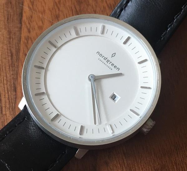 ノードグリーンの腕時計