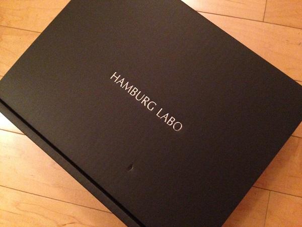 HAMBURG LABOの京都ポーク100%ハンバーグの箱