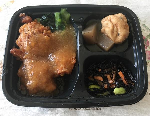 ワタミの宅食ダイレクト、鶏の唐揚げ おろしソース